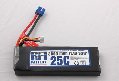 Picture of RFI LiPo 3s 11,1V 3000 25C