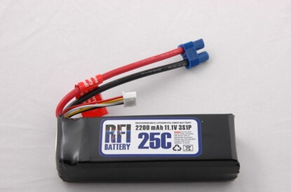 Picture of RFI LiPo 3s 11,1V 2200 25C
