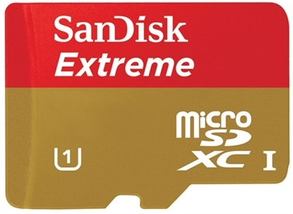 Picture of SanDisk Extreme 16 GB microSDHC