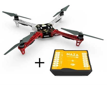 Picture of DJI F450 E300 + Naza-M V2 + GPS