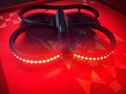 Picture of LED strip 2 meter Rood